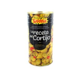 Blikje olijven Spaans 185 gr. netto
