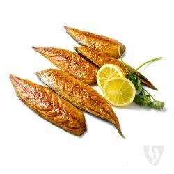 Gerookte makreelfilets natuur - per stuk