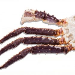 King krab gekookt per 100 gr.