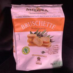 Bruchetta toast ovaal