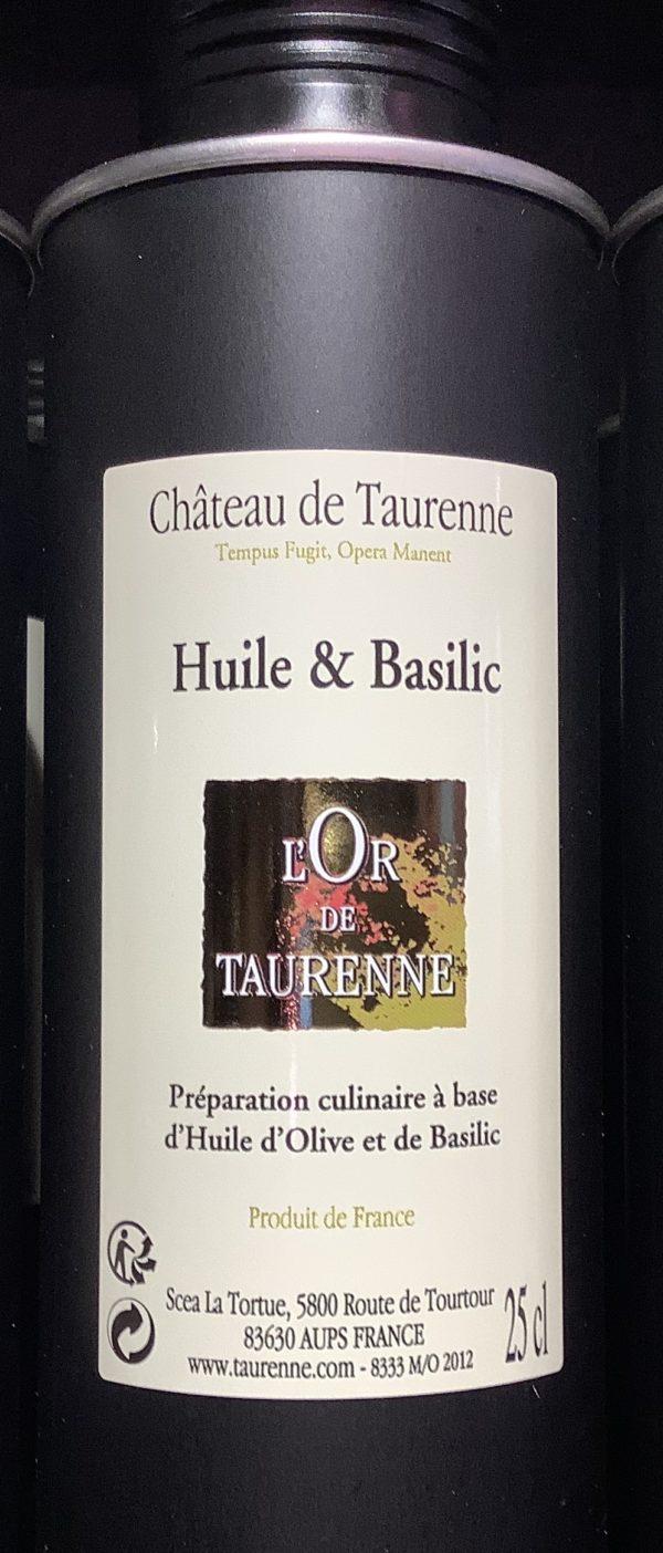 Château Taurenne basilicum