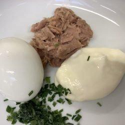 Tonijnsalade mayonaise per 100gr.