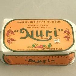 Nuri Makreel in pikante olijfolie