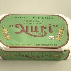 Nuri Makreel in olijfolie