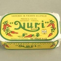 Nuri sardines pikante olijfolie