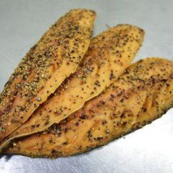 Gerookte makreelfilets peper - per stuk