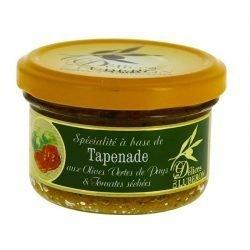 Tapenade verte aux tomates séchées