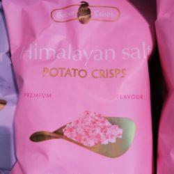 Chips Himalaya zout