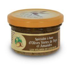 d'Olives vertes de Pays et amandes