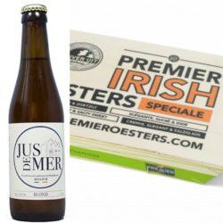 Pakket Ierse oesters 24stuk + Jus de mer 4 flesjes